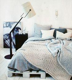 Auf der Suche nach einem neuen Bett? Schau dir schnell die 18 verrückten Betten aus Paletten an! Großartig! - DIY Bastelideen