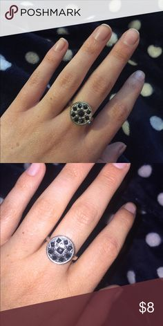 Black & Silver Ring Black & Silver Ring: New Jewelry Rings