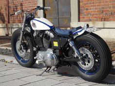 カスタムバイク No.140:XLH883 スポーツスター(H.D) - カスタムバイク&USEDバイク Gravel Crew[グラベルクルー] - 三重県桑名市のオートバイショップ