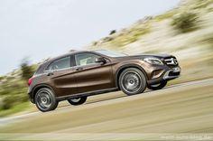 Galerie - Mercedes Benz GLA 220 cdi Orientbraun metallic