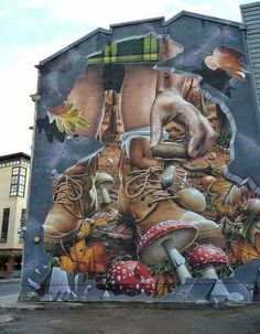 If you are a lover of street art, you will have a great time looking for the best mural of Glasgow artists. The Travel Tester shows you where to go! Street Wall Art, Urban Street Art, Murals Street Art, Best Street Art, Amazing Street Art, Street Art Graffiti, Mural Art, Fantastic Art, Art Du Monde