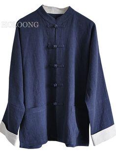 Jackets DeepBlue Custom Middle-aged Men Loose Jackets