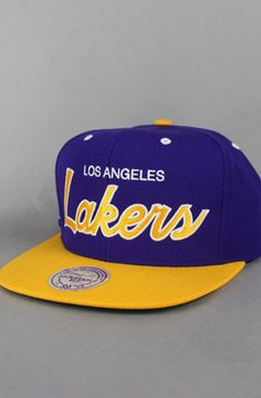Los Angeles Lakers Snapback Hat (M