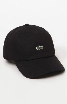 Lacoste Small Croc Strapback Dad Hat 868ec3c26f9