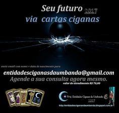 Entidades Ciganas da Umbanda (Clique Aqui) para entrar.: ATENDIMENTO ESPIRITUAL VIA CARTAS CIGANAS