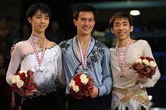 パトリック・チャンが優勝、羽生2位 織田3位 スケート・カナダ 国際ニュース:AFPBB News
