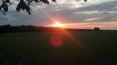 SUNSET IN GA JUNE 2012