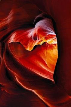 Nature is awesome. Heart shaped canyon in Arizona - Cool Nature