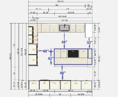 18 best kitchen floor plans images kitchens cuisine design rh pinterest com