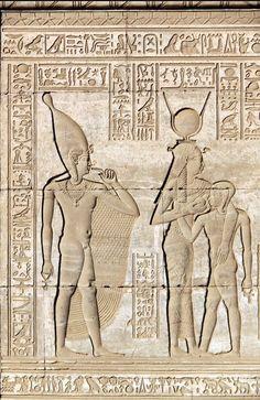 Fresque du Temple de Dendera