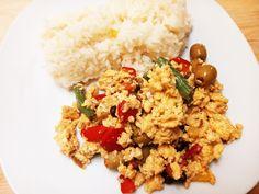 Este prato serviu de refeição para o dia vegetariano, estava óptimo, mas também pode ser adaptado para um pequeno almoço, com leguminosas mais leves e em vez de acompanhem com arroz, acompanhem com…