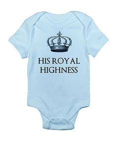 <p+style='margin-bottom:0px;'>Give+Baby+a+royal+welcome+with+this+luxuriously+soft+cotton+bodysuit+that+boasts+a+cheeky+crown+print+and+bottom+snaps+for+quick+changes.<p+style='margin-bottom:0px;'><li+style='margin-bottom:0px;'>100%+cotton<li+style='margin-bottom:0px;'>Machine+Wash<li+style='margin-bottom:0px;'>Imported<p+style='margin-bottom:0px;'><br+/>