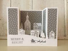 Livre Magique Noël Toppers 10 cm x 10 cm 80 papiers pour Cartes et Artisanat