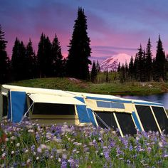 NEW Craig 23x18ft Camping Trailer Tent OFF Road 4x4 Caravan Family Canvas Camper | eBay