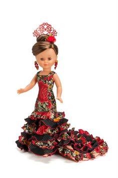 dressed by a fan of Nancy Doll, Spanish Girls, Barbie Patterns, Ken Doll, Doll Costume, Kokeshi Dolls, Girl Doll Clothes, Miniature Dolls, Barbie Dolls