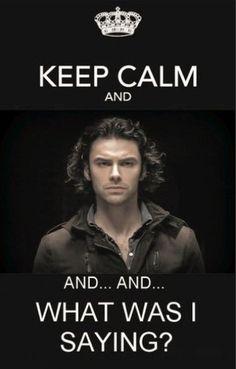 Keep Calm - Aidan Turner / The Hobbit.... I think I'm going to die!!!!!!!!