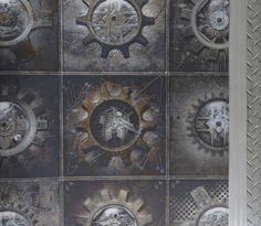 Steampunk Wallpaper, Alexander Mcqueen Scarf