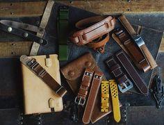 """38 """"Μου αρέσει!"""", 1 σχόλια - G. (@greenstraps) στο Instagram: """"#greenstraps #leather #realleather #handmade #handstitching #handmadecreations #notebook #pencil…"""""""