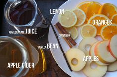 BOOZY/FRUITY MULLED CIDER // shutterbean Had this at the Law Review holiday party, and it was amazing!