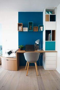 25 idées pour aménager un coin bureau dans le salon