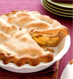 Time: Guilt-Free Holiday Recipes Apple Pie with Walnut CrustApple Pie with Walnut Crust Healthy Thanksgiving Recipes, Tasty Vegetarian Recipes, Good Healthy Recipes, Vegan Recipes Easy, Apple Recipes, Organic Recipes, Healthy Desserts, Just Desserts, Holiday Recipes