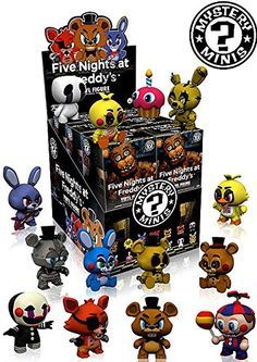 12/4/2016 -- Five Nights at Freddy's Mystery Minis Series 1 Set. Only $59.99! :)