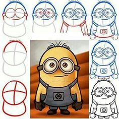 Apprendre à dessiner un Minion... ...