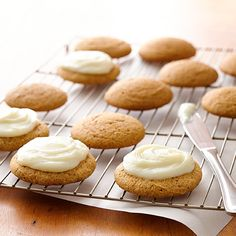 5-Ingredient Pumpkin Cookies : These super-easy cookies are the perfect thing to make when you're craving something with pumpkin.