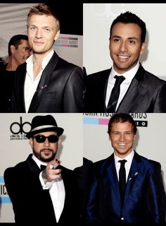 Nick, Howie, AJ & Brian ❤️ (Kevin isn't in the picture)
