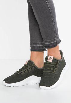 pretty nice 5e133 e8636 adidas Originals. TUBULAR SHADOW - Trainers - mystery greencore blackwhite .