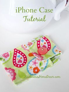 | iPhone Case Sewing Tutorial | http://sewlicioushomedecor.com