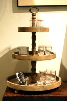 Recycled 3 Tier Tray