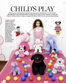 """Riverboom's """"Toy Stories"""" in Marie Claire Australia"""