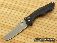 Benchmade 810 Contego Satin Plain