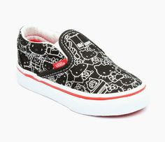 VANS x Hello Kitty Toddler Slip On: Silver