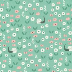 147514 Sunday Stroll | Green Quilter's Cotton from Park Life by Elizabeth Olwen for Cloud9 Fabrics