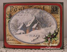 Paper Therapy: Stampendous Handmade Christmas Blog Hop!!!