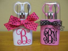 Personalized Manicure Set for Wedding Bridesmaid Gift