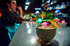 Where to Drink Cocktails in Atlanta Right Now, Winter 2016 - Eater Atlanta Best Cocktail Bars, Cocktail Drinks, Fun Drinks, Cocktails, Fried Coconut Shrimp, Bar Interior Design, How To Make Drinks, Frozen Drinks, Cocktail