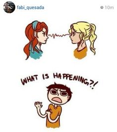 I just noticed this:  AnnaBETH Chase, Rachel ElizaBETH Dare, PercaBETH  Could Percabeth go both ways,,,? NAH!