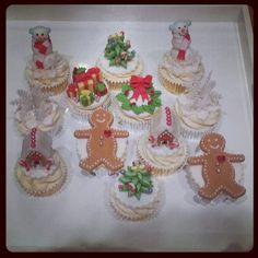 Christmas Cupcakes - Beanie's Bakery