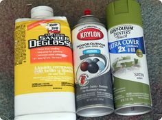 Thinking about spray painting furniture? Here are the products you'll need for a flawless finish.