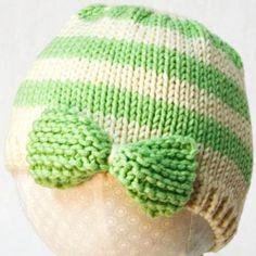 Baby Hat Knitting Pattern