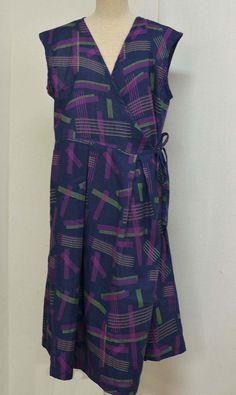 カシュクールワンピース | コッカファブリック・ドットコム|布から始まる楽しい暮らし|kokka-fabric.com