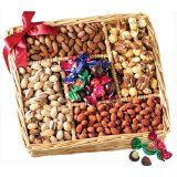 Broadway Basketeers Gourmet Sweet and Savory Nut Gift Basket for Mother's Day (Grocery)By Broadway Basketeers