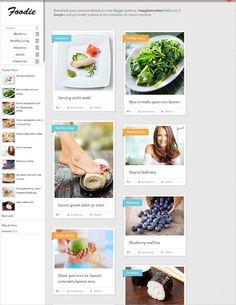 Food, Recipe Blog Website Templates & Themes | Free & Premium | Free & Premium Templates Vegetarian Recipes, Cooking Recipes, Custom Web Design, Recipe Search, Roast Recipes, Food Trends, Fabulous Foods, Base Foods, Restaurant Recipes