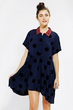 Lazy Oaf Folka Dot Sally Dress