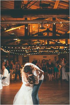 A first dance to die for on their wedding day in a vintage building in Kelowna \ Joelsview Photography