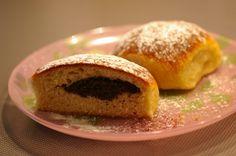 Spirala baking: Plněné buchty z kvásku Sourdough Recipes, Muffin, Eggs, Baking, Breakfast, Food, Morning Coffee, Bakken, Essen