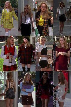 Mine fashion clueless cher fashion cher clueless 90s Girl Fashion, Clueless Fashion, Clueless Style, Clueless 1995, Cher Clueless Outfit, Cher From Clueless, Dionne Clueless Outfits, 1990s Fashion Women, Trendy Fashion
